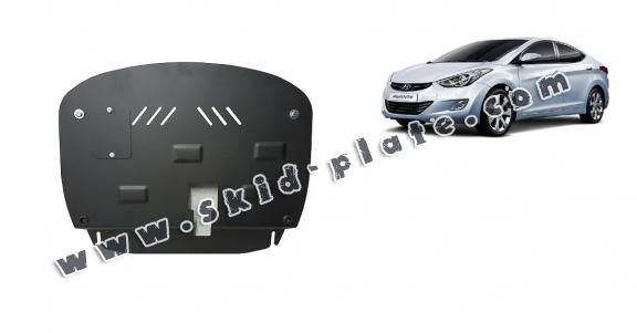 Steel skid plate for Hyundai Elantra 2