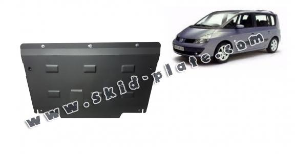 Steel skid plate for Renault Espace 4