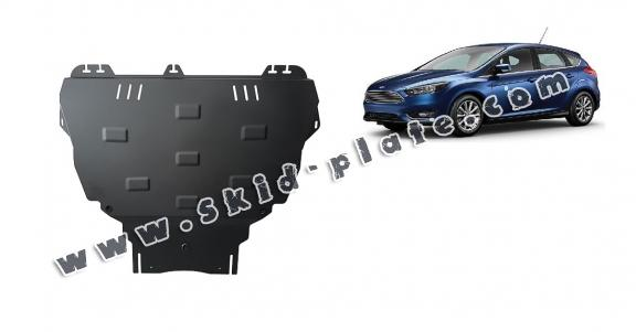 Steel skid plate for Ford Focus 3