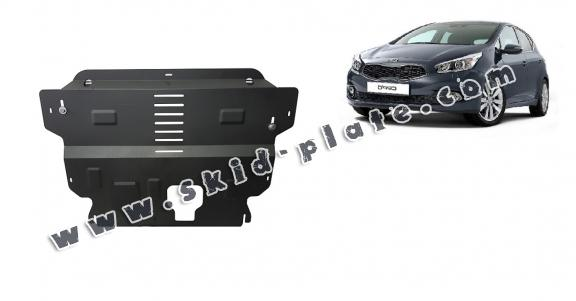 Steel skid plate for the protection of the engine and the gearbox for Kia Ceed