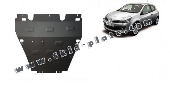 Steel skid plate for the protection of the engine and the gearbox for Renault Clio 3
