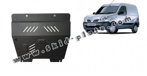 Steel skid plate for Nissan Kubistar