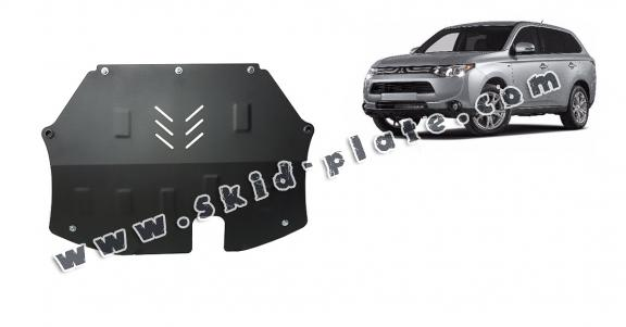 Steel skid plate for Mitsubishi Outlander