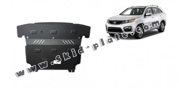 Steel skid plate for Kia Sorento