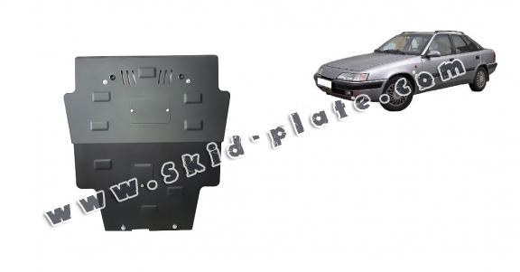 Steel skid plate for Daewoo Espero