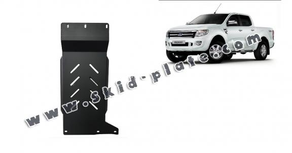 Steel gearbox skid plate for Ford Ranger