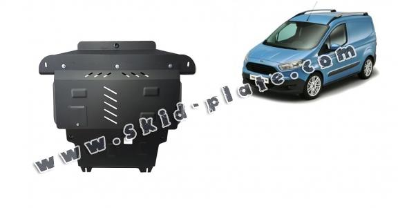 Steel skid plate for Ford Transit Courier