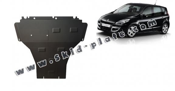Steel skid plate for Renault Scenic 3