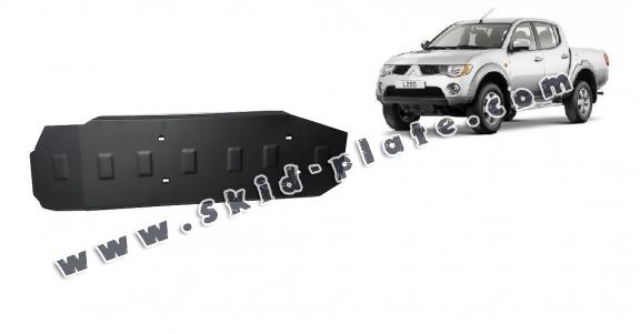 Steel fuel tank skid plate  for Mitsubishi L 200