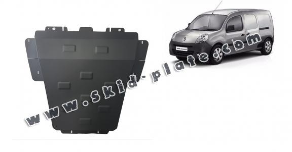 Steel skid plate for Renault Kangoo