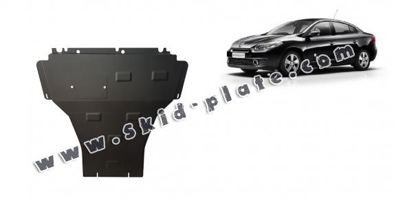 Steel skid plate for Renault Fluence