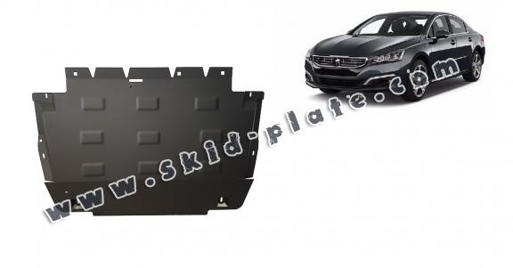 Steel skid plate for Peugeot 508
