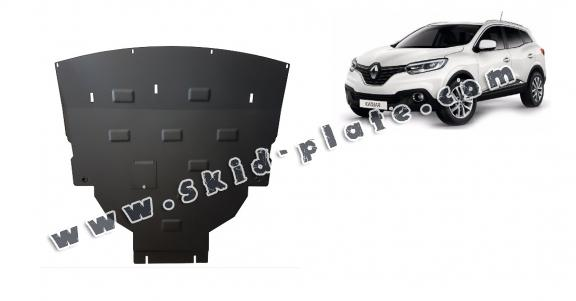 Steel skid plate for Renault Kadjar