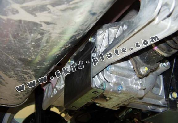 Steel differential skid plate for Fiat Sedici