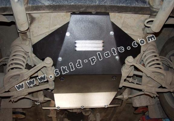 Steel skid plate for Lada Niva
