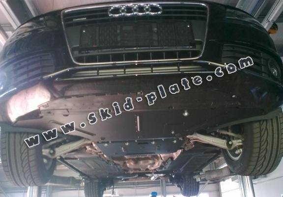 Steel skid plate for Audi A5, petrol