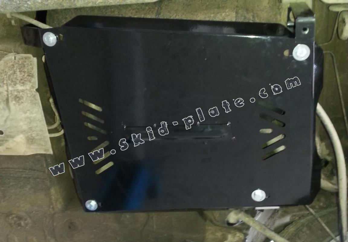 aluminum fuel tank skid plate for dacia duster. Black Bedroom Furniture Sets. Home Design Ideas