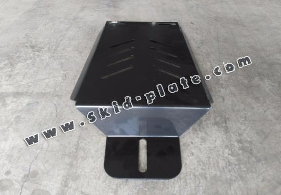 Steel differential skid plate for Dacia Duster