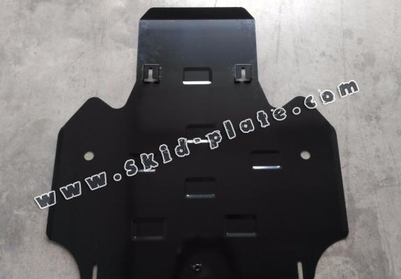 Steel gearbox skid plate for Audi All Road