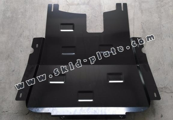 Steel skid plate for Dacia Lodgy
