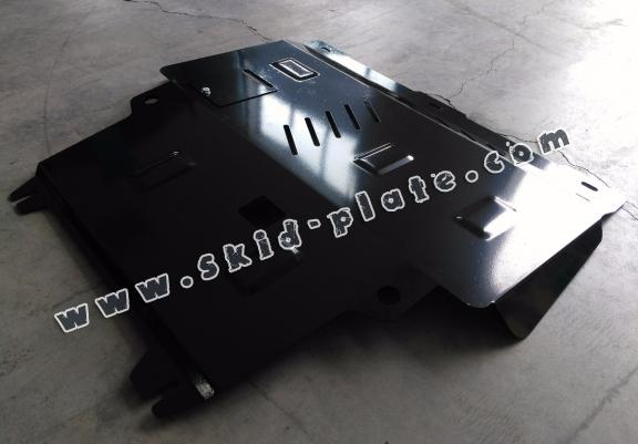 Steel skid plate for Ford KA+