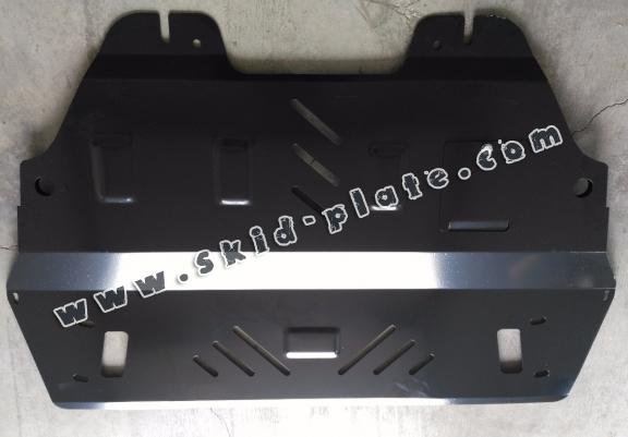 Steel skid plate for Citroen DS5