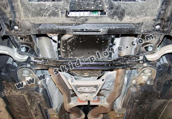 Steel skid plate for Audi A6