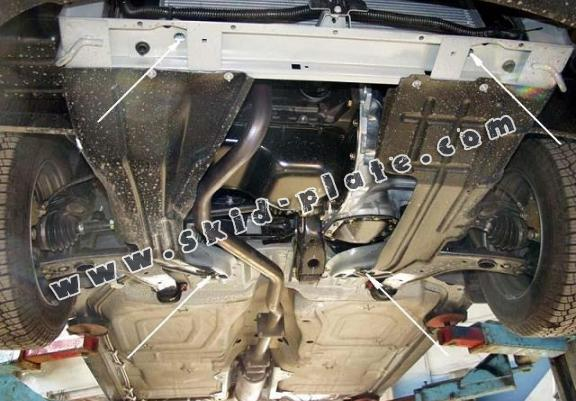 Steel skid plate for Daewoo Cielo