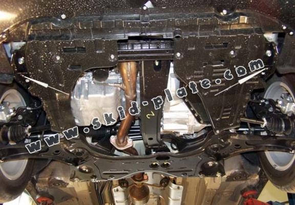 Steel skid plate for Fiat Sedici
