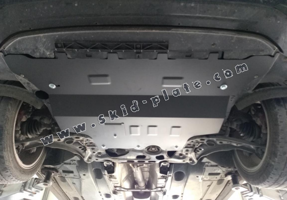 Steel skid plate for Skoda Karoq - automatic gearbox