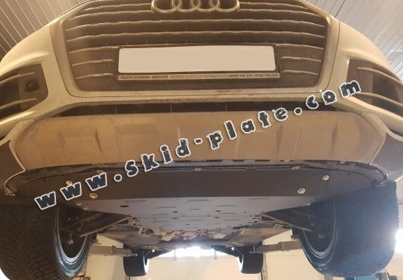 Steel skid plate for Audi Q7